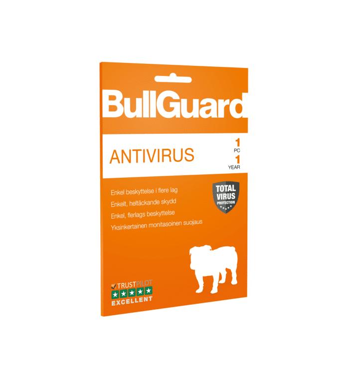 BullGuard Antivirus - 1 PC 1 år