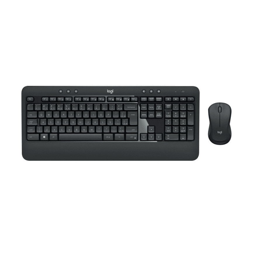 Logitech MK540 Advanced Tastatur & mus Trådløs – Nordisk Layout