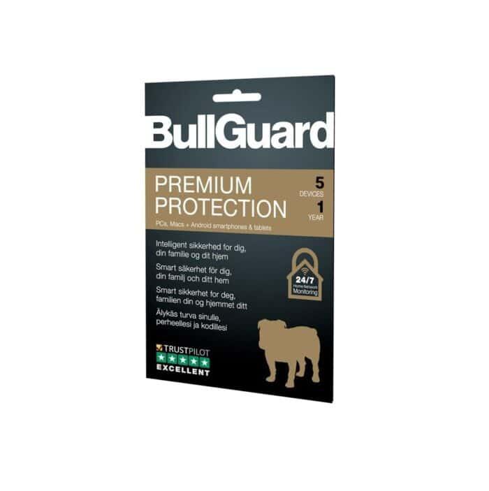 Bullguard Antivirus - 5 pc 1 år
